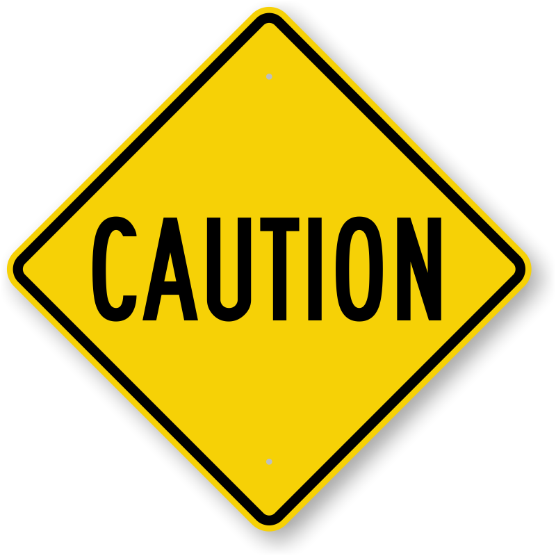 caution signs free downloadable pdf s or durable factory direct rh pinterest com caution sign clip art free free clipart warning sign