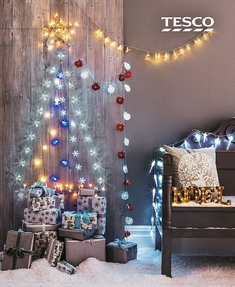 Our beautiful indoor Christmas lights, from vintage bulbs to classic fairy  lights, add a festive touch to any room | Tesco - Our Beautiful Indoor Christmas Lights, From Vintage Bulbs To Classic