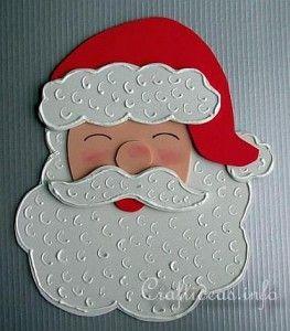 Patrones Para Hacer Santa Claus En Foami Navidad Ninos Navidad En Foami Moldes Artesanias De Navidad