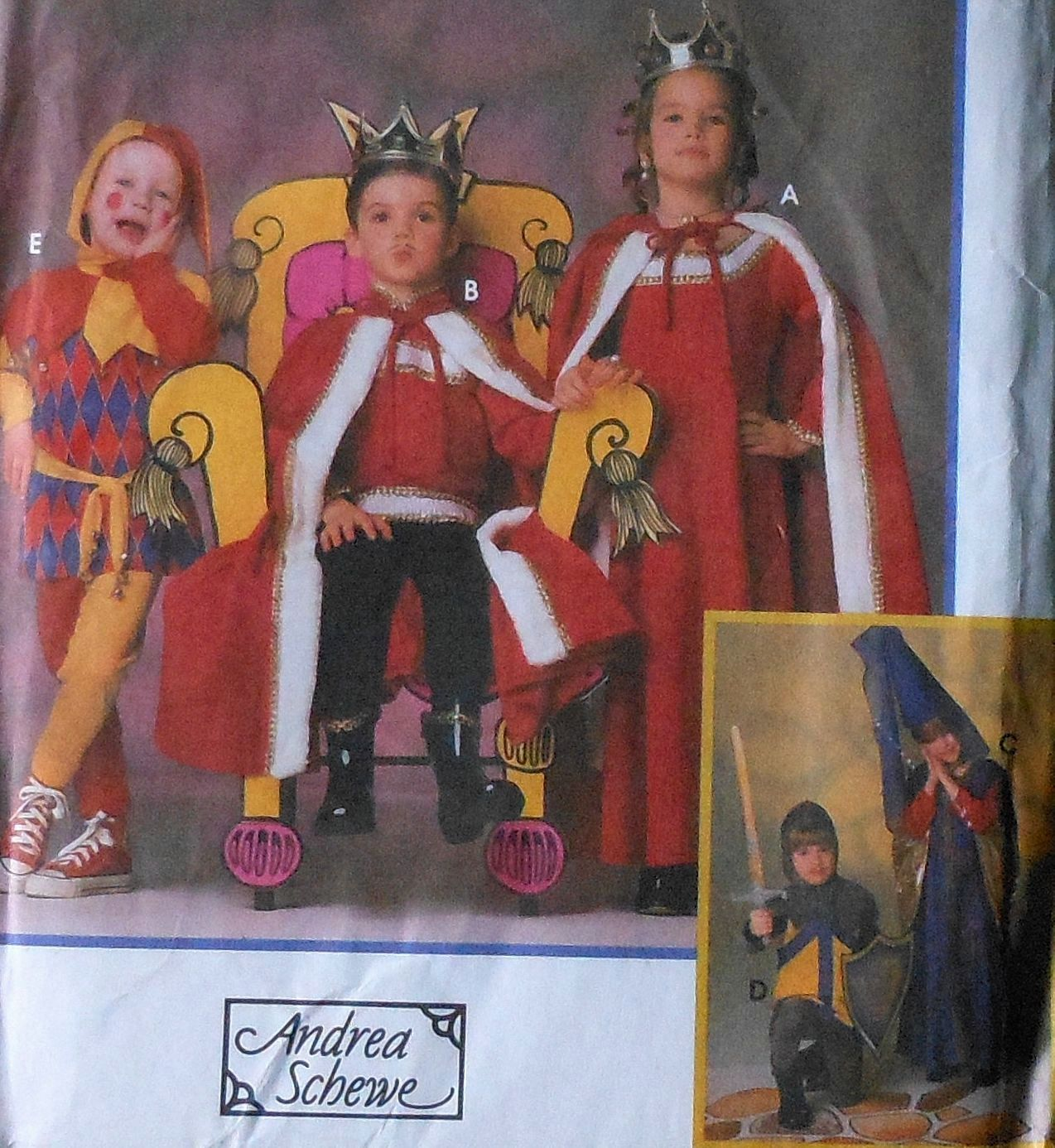 Medieval king queen knight princess jester costume sewing pattern medieval king queen knight princess jester costume sewing pattern jeuxipadfo Choice Image