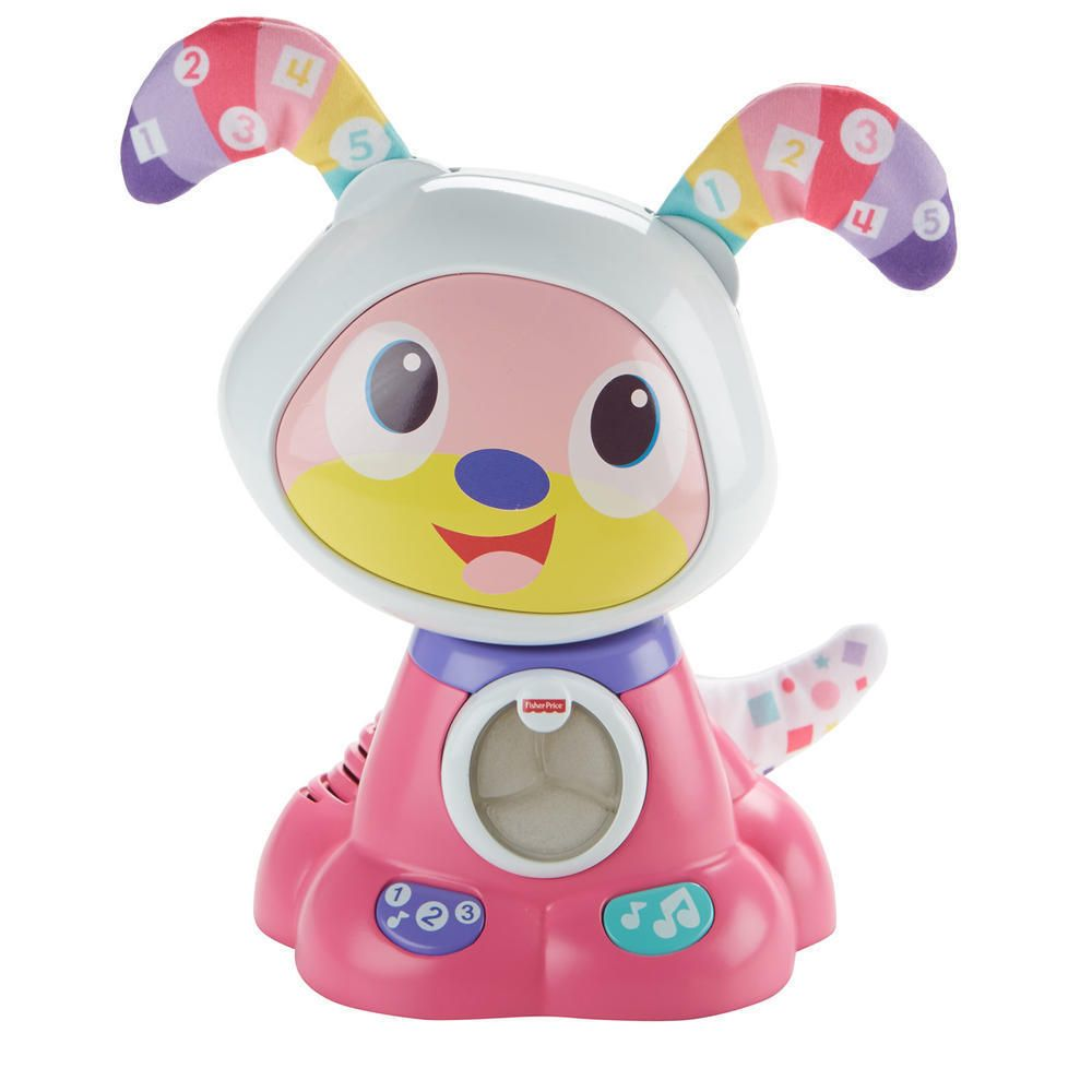 Bow Wow Interactive Learning Puppy Pink Fisher Price Dance And