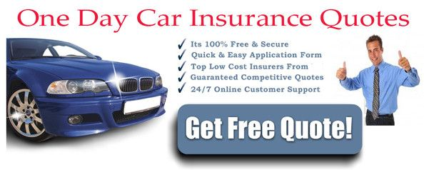 Insurance Quote Online Alluring Get Cheap One Day Car Insurance Quotes Online Faster And Easier