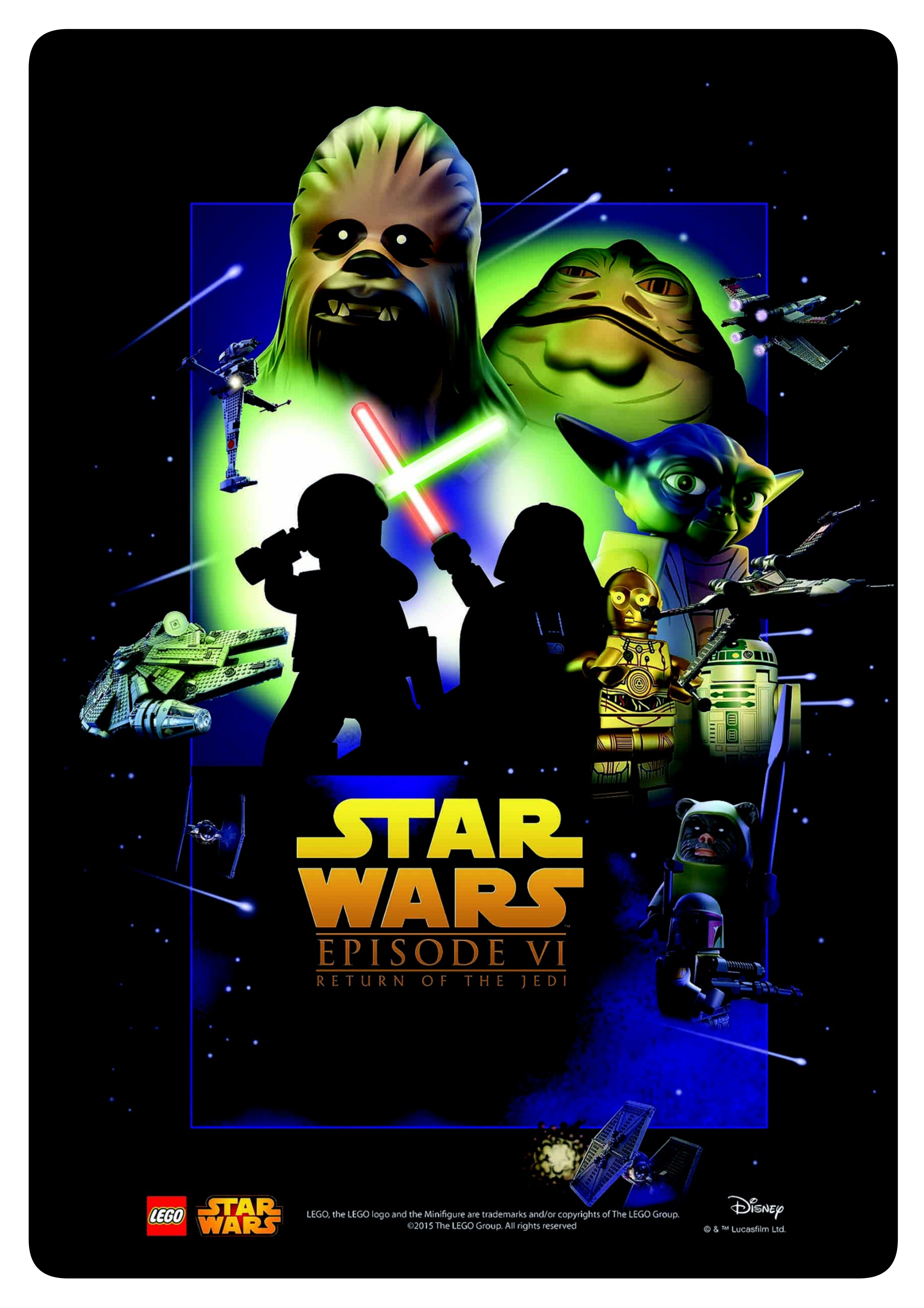 LEGO Star Wars Poster | LEGO Star Wars | Pinterest