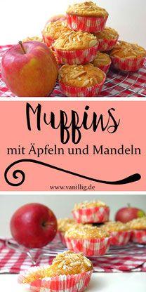 Photo of Schnelle uns saftige Apfelmuffins