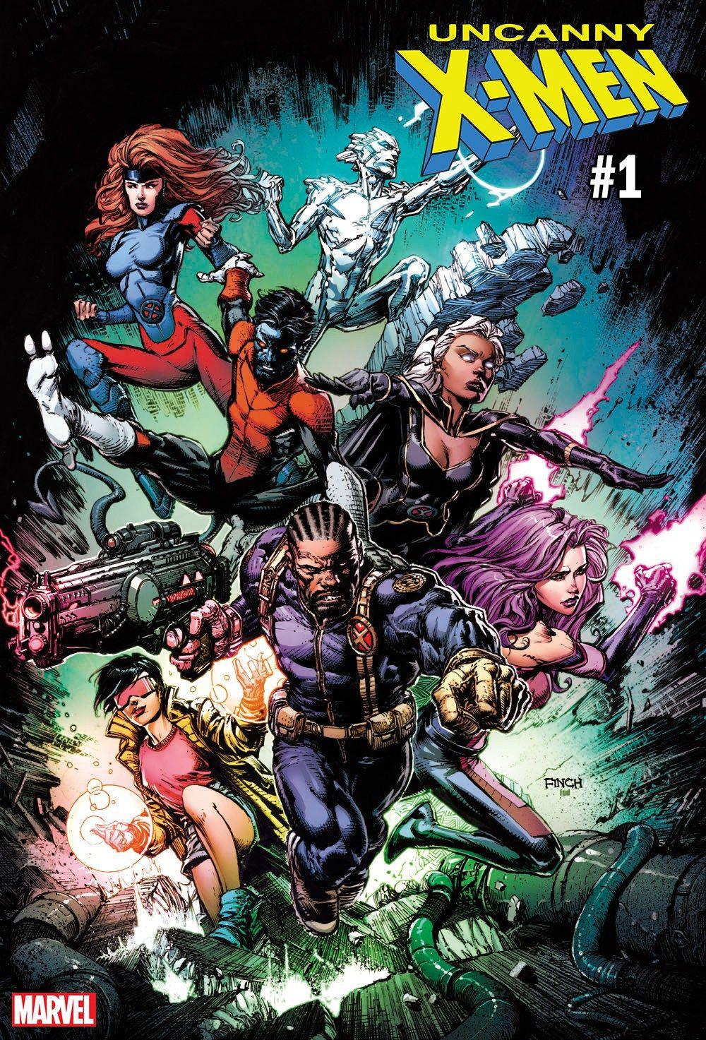 Marvel Reveals New Uncanny X Men 1 Cover From David Finch Superhero Comic Dc Comics Superheroes X Men