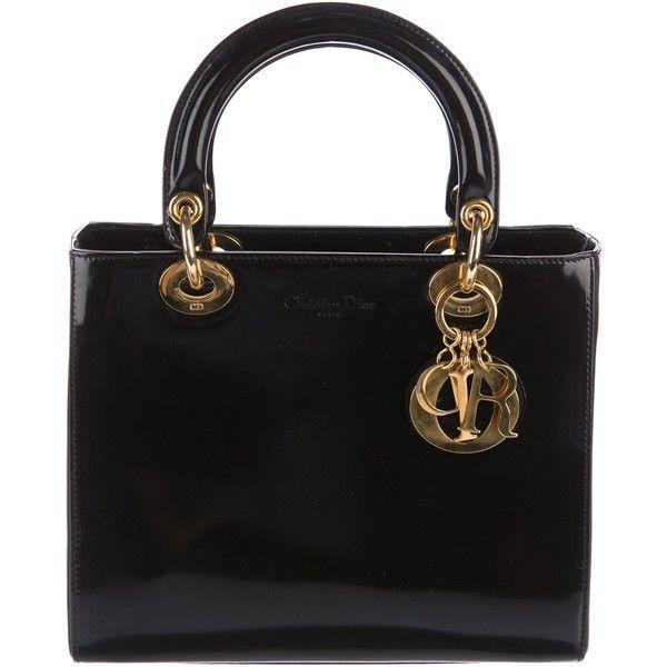 Dior Pre-owned - Lady Dior cloth handbag zBMPC12Cj1