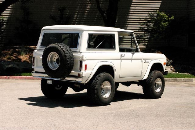 77 White Convertible Bronco With Hard Top Classic Bronco