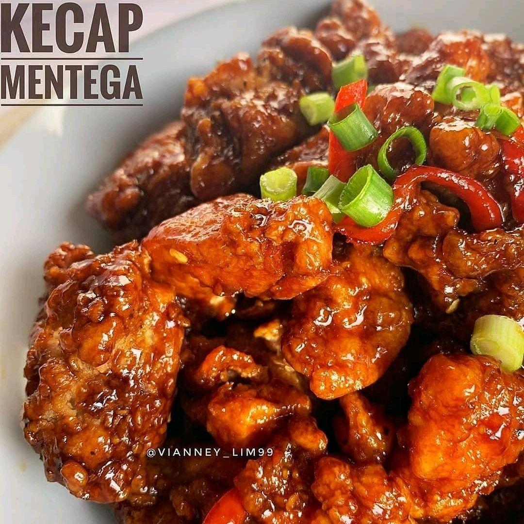 Resep Masak Gampang Banget On Instagram Ayam Karage Kecap Mentega By Vianney Lim99 Source Willgoz Bahan Marinasi Ayam 4 Recipes Food Chicken Wings