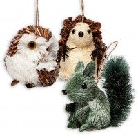 woodland critter ornaments | Woodland critters, Holiday ...