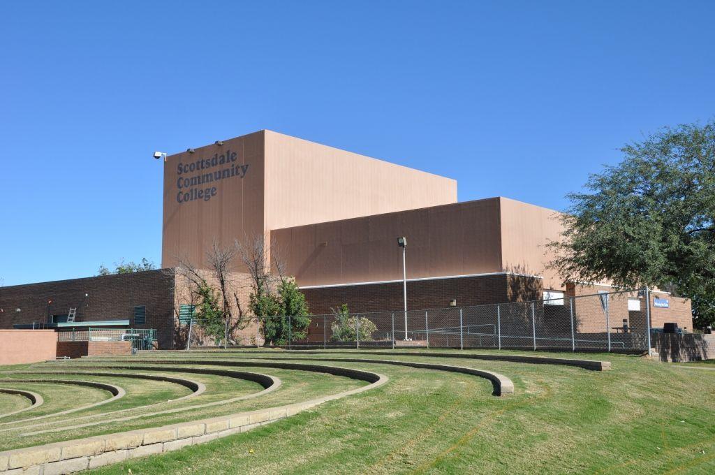 Performing Arts Center Outdoor Amphitheatre Scottsdalecc Campus