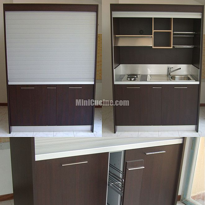 Cucine a scomparsa mini cucine monoblocco armadio - Cucine armadio monoblocco ...