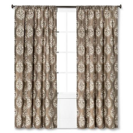 ThresholdTM Paisley Curtain Panel Target