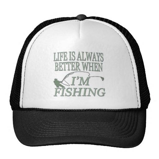 780b90b02d0   gt  gt Save on Funny Angling Life Is Always Better When Fishing Hat