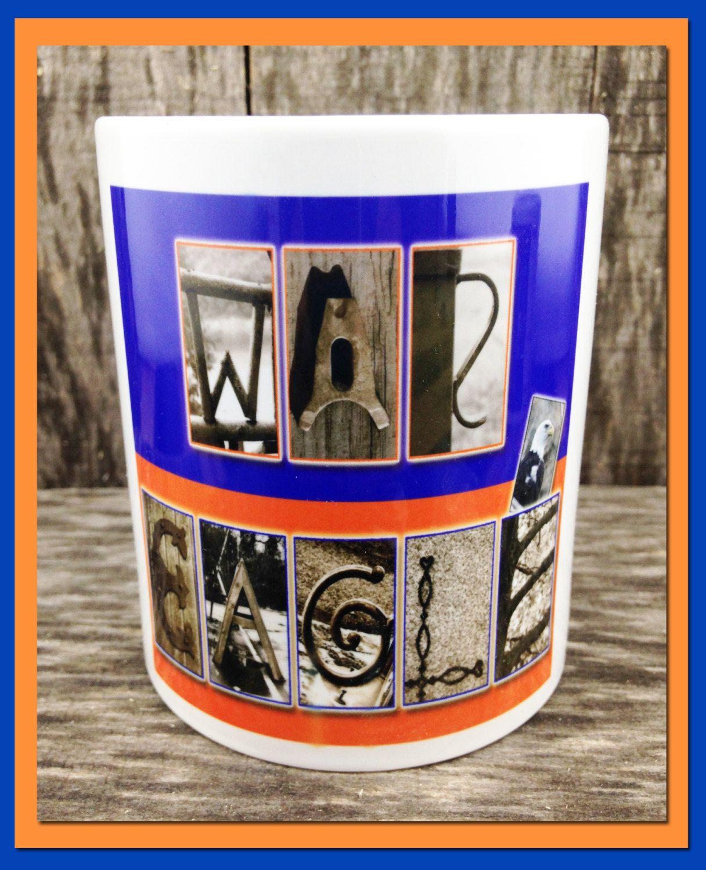 Coffee Mug 11oz Dishwasher safe War Eagle by