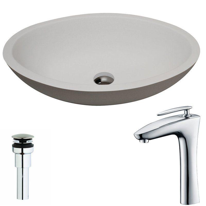 Maine Circular Vessel Bathroom Sink with Price  $ 34399 Bathroom