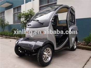 Electric Scooter Adults China Small Enclosed Car Mobility Scooter 60v 1000w 32ah 4 Wheel 2 Seat H Electric Trike Small Electric Cars Electric Scooter With Seat
