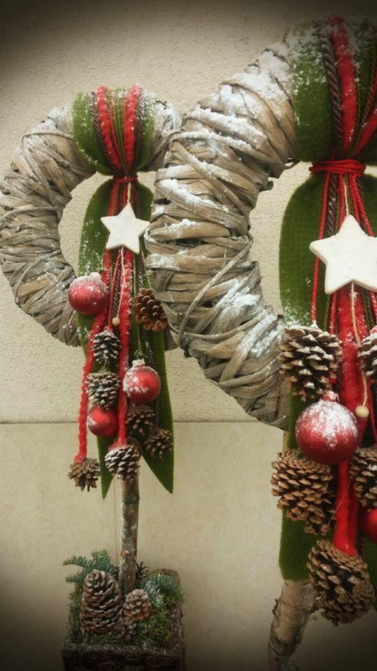 Photo of Weihnachtskranz ideen #weihnachten #ideen #kranz #rustikaleweihnachten weihnacht…