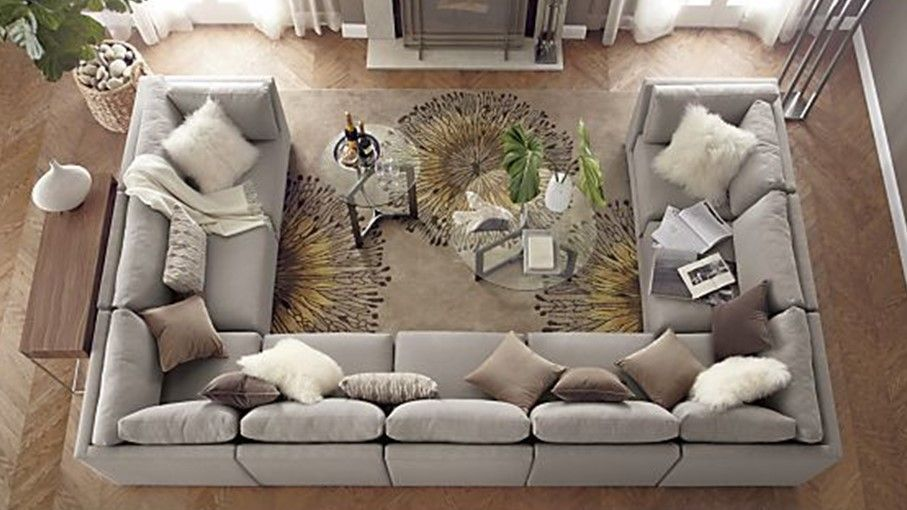 sectional sofa u shaped artemis 5 pc microfiber how to master the shape diy pallet couch pinte more