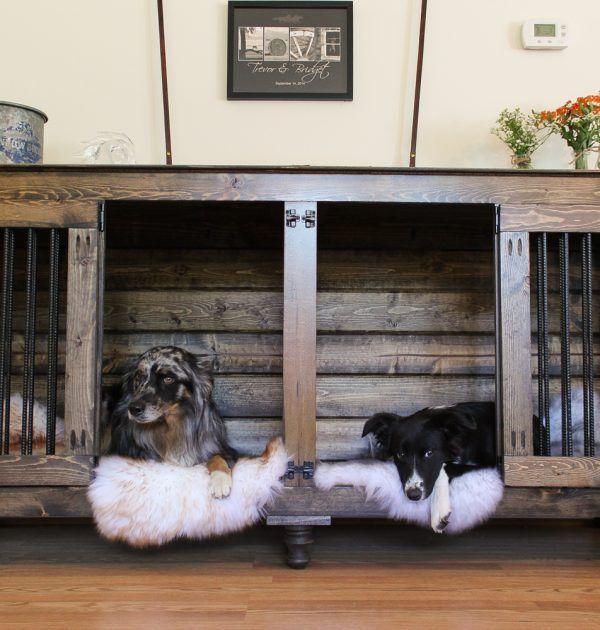 Coffee Doggie Den Diy Dog Kennel Diy Dog Crate Dog Crate Furniture