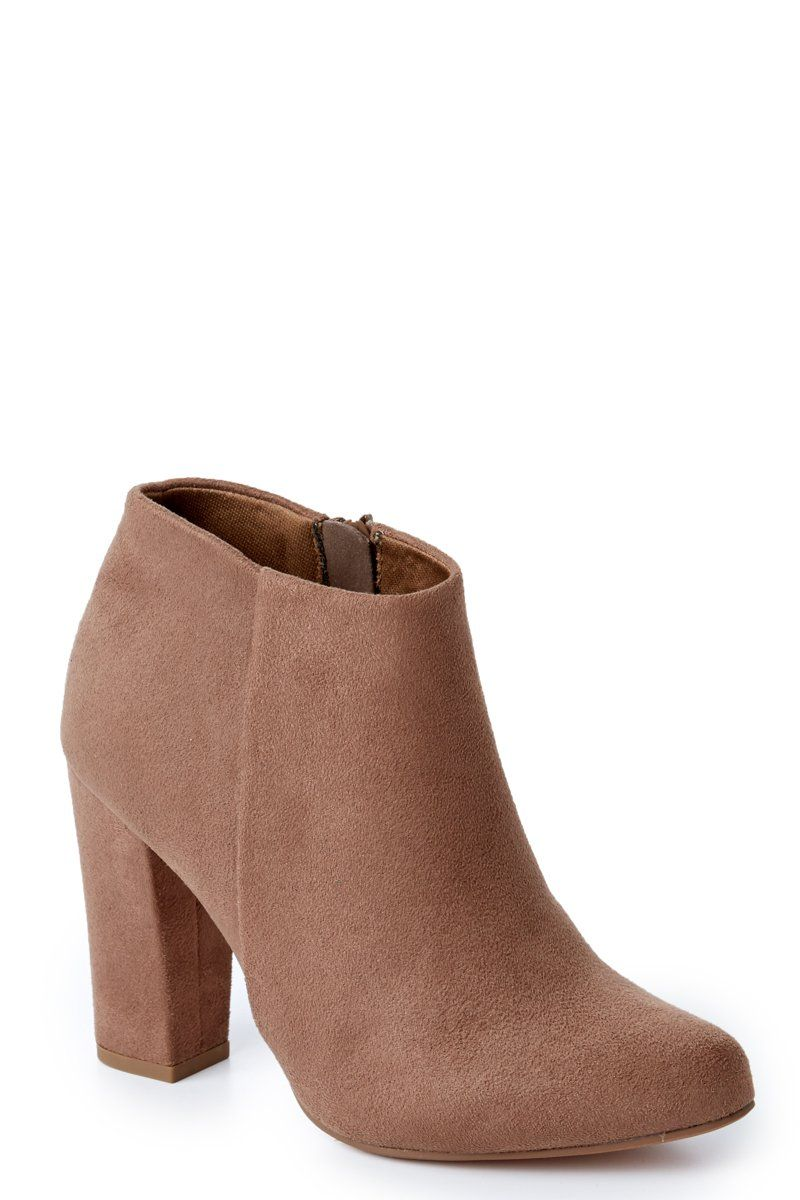a2340af81ce Cool Taupe Boots - Ankle Boots - High Heel Boots -  44.00 – Red Dress  Boutique