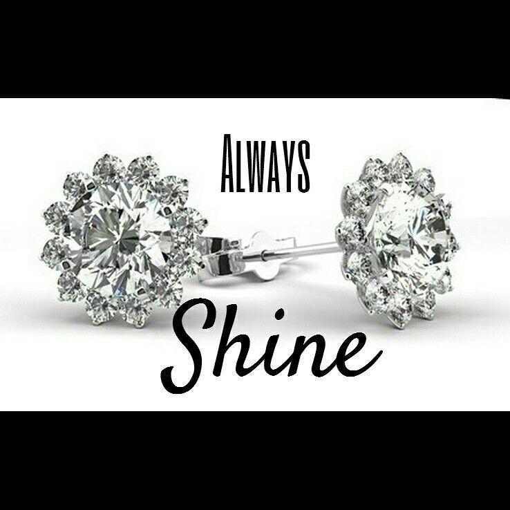Always Shine Bright Juwelkerze Jewelcandle Kerze Candle
