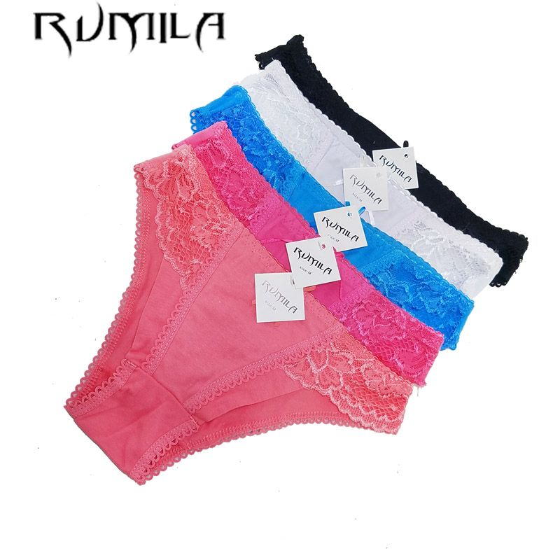7bc8d6a2a6d women cotton lace many color size sexy underwear ladies panties lingerie  bikini underwear pants thong g string 6486 2pcs -