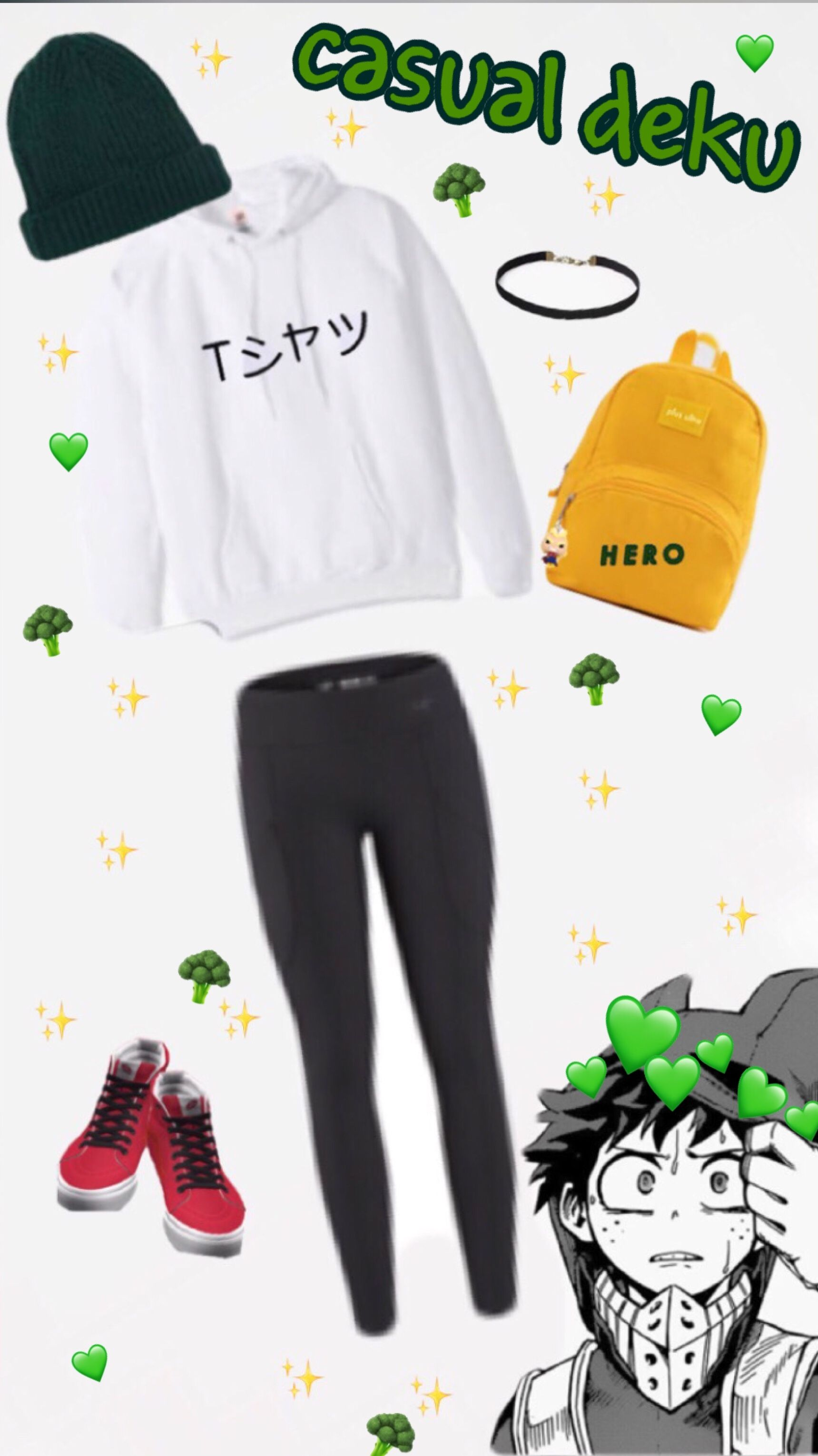Casual Deku Anime Inspired Outfits Fandom Outfits Character Inspired Outfits
