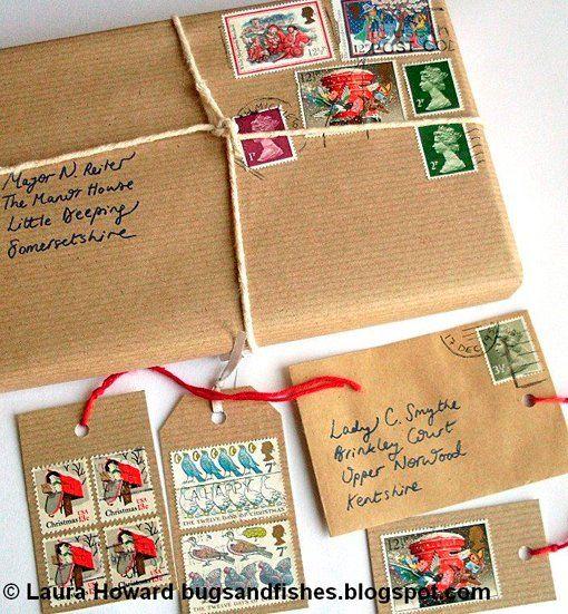 Ideas para envolver regalos de navidad con materiales reciclados