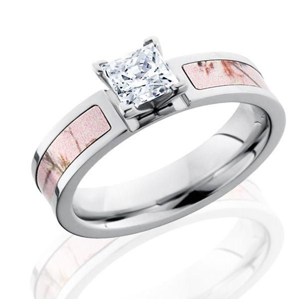 Realtree Ladies Camo 1 2 Carat Diamond Ring Camo Wedding Rings