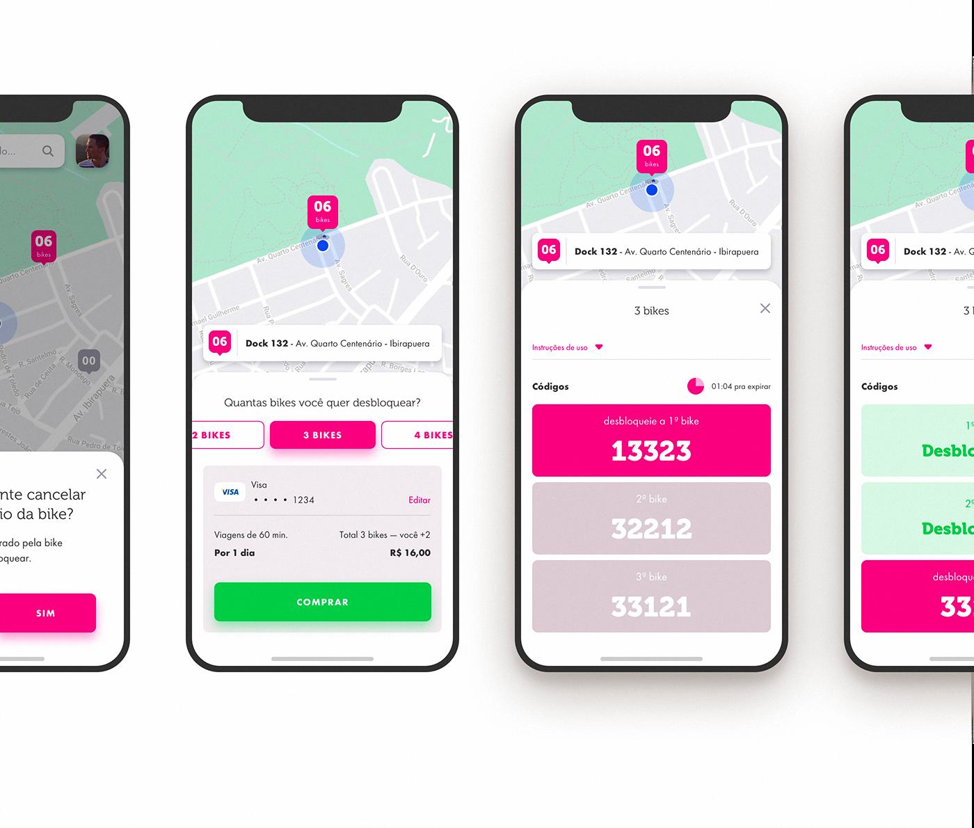 Behance Kuriruemye Galerei App Biking Apps Bike Share
