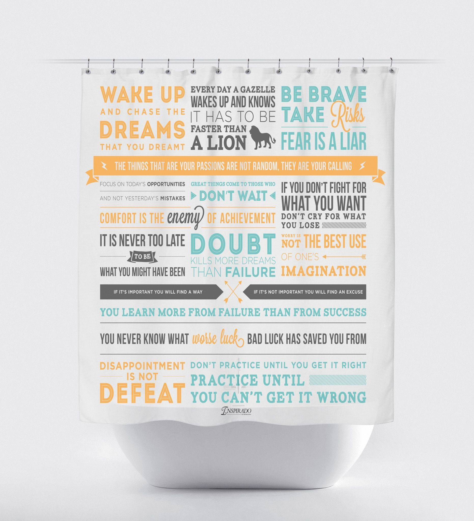 Inspirational Fabric Shower Curtain Fabric Shower Curtains