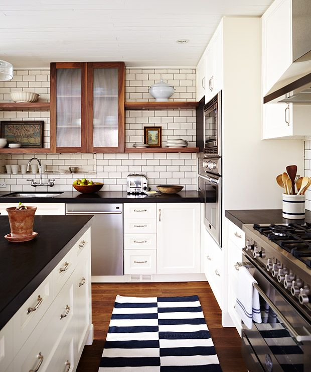 Favorite 22 Kitchen Cabinets And Flooring Combinations: 14 Bistro And Restaurant-Style Kitchens