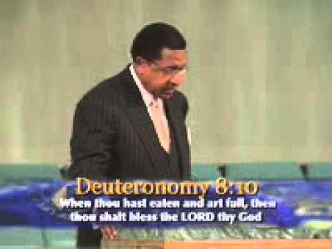 01 Leroy Thompson - Deciding To Enter Into Your Place Of Abundance - Part 1