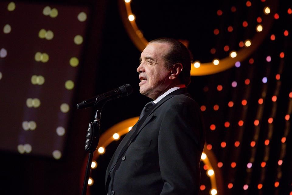 Academy Award-nominated actor Chazz Palminteri introduced
