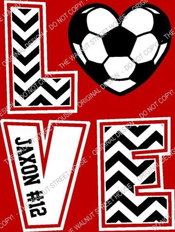ORIGINAL DESIGN Soccer Chevron LOVE T-Shirt Soccer mom. Find this Pin and  more on Soccer girls by Ruth Bernaldez. 830430ba68d37