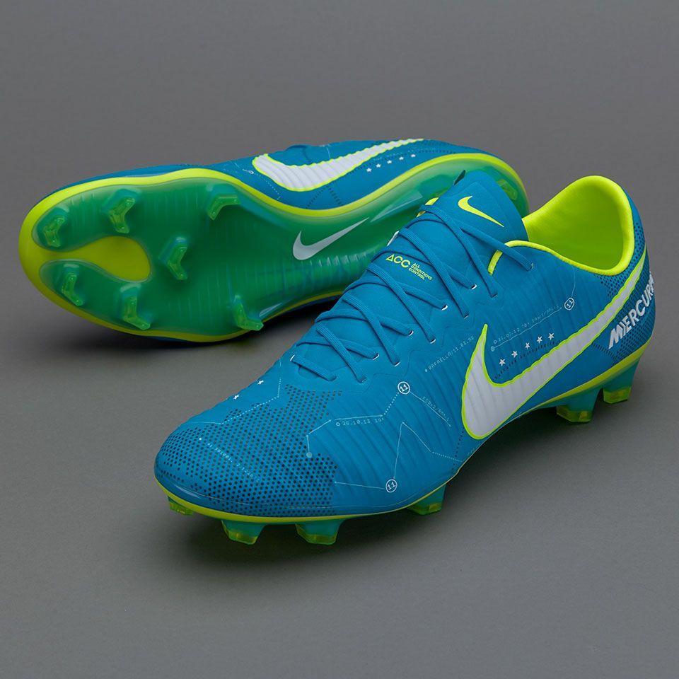 Sepatu Bola Nike Mercurial Vapor Xi Neymar Jr Fg Blue Orbit White