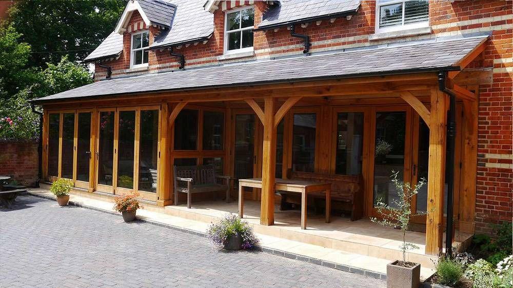 oak-extension-with-veranda.jpg (1000×562) | Garden | Pinterest ...