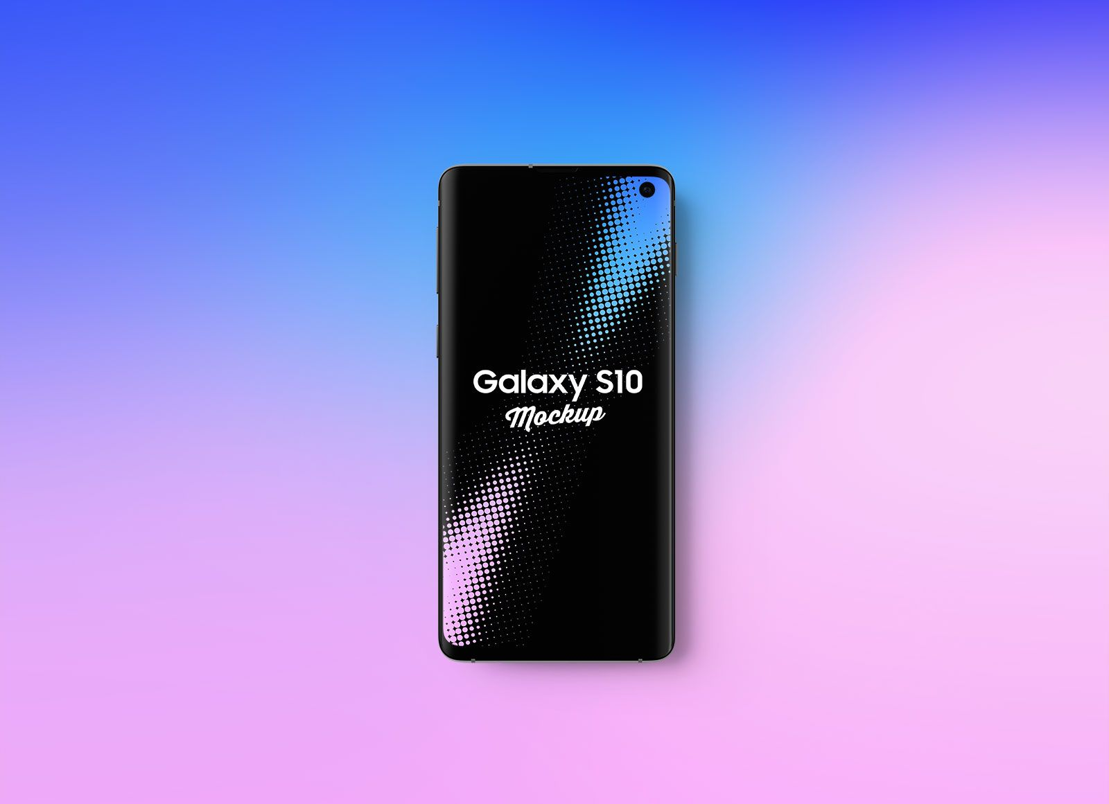 bc3f5bbcfb2f86 Free Samsung Galaxy S10 Mockup PSD | Free Graphic Goodies in 2019 ...