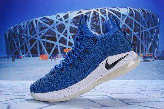 9dbe460605b Nike LeBron 15 Low Royal Blue Black White AO1756 400 Men s Basketball Shoes  James Shoes