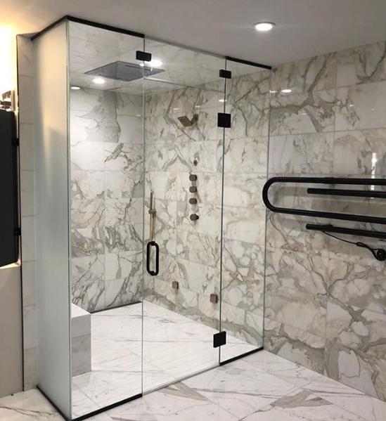 Glass Shower Doors By Juano S Glass In 2020 Glass Shower Doors