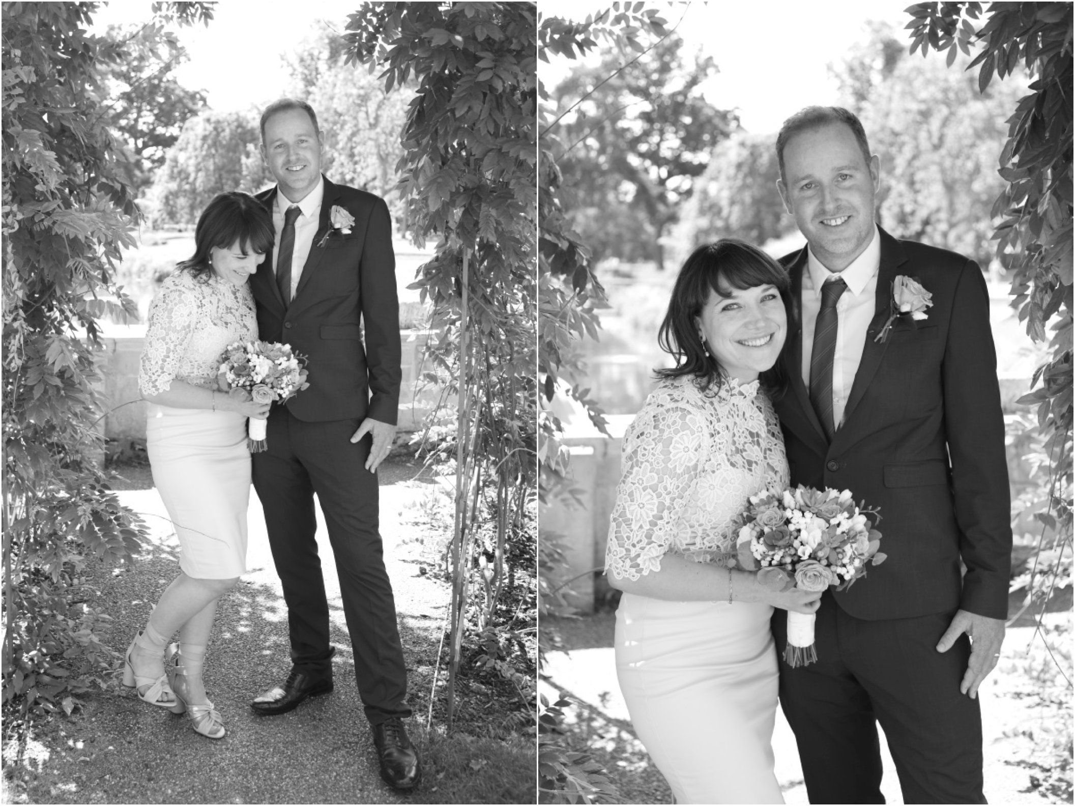 Ealing Wedding Photography Natural Black And White Elopement Photo