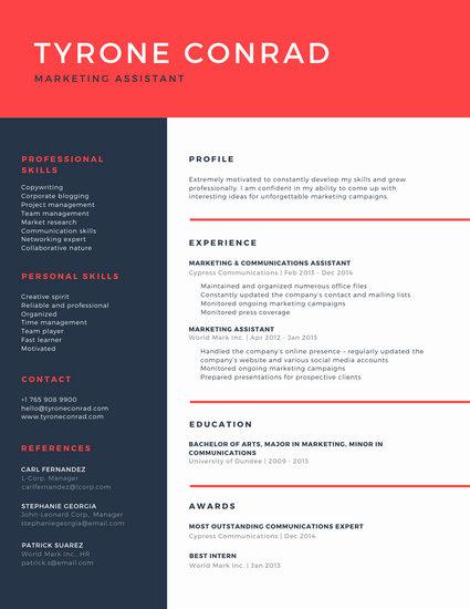 Customize 72+ Professional Resume templates online Canva