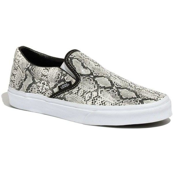 98d53c9444b MADEWELL Vans® Classic Slip-Ons in Snake Print ( 45) ❤ liked on Polyvore  featuring shoes