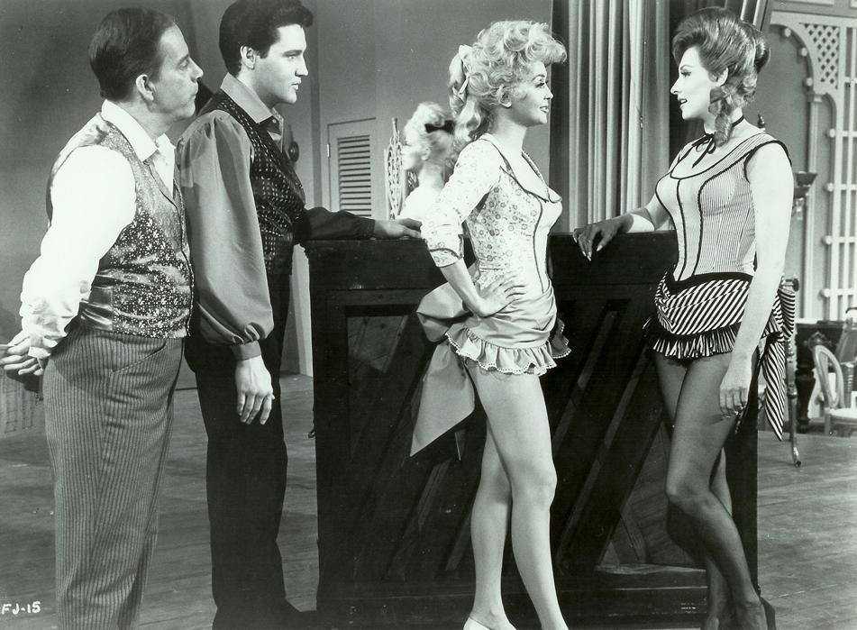Elvis in 'Frankie And Johnny' also starring Donna Douglas, Harry ...