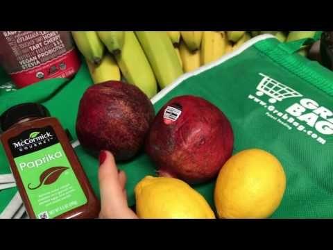 Costco Healthy Produce Grocery Haul