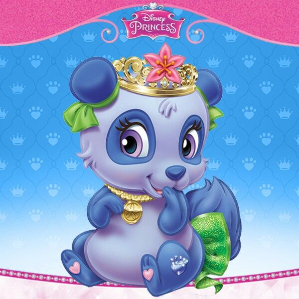 Disney Princess Palace Pets Blossom Mulan S Panda Disney