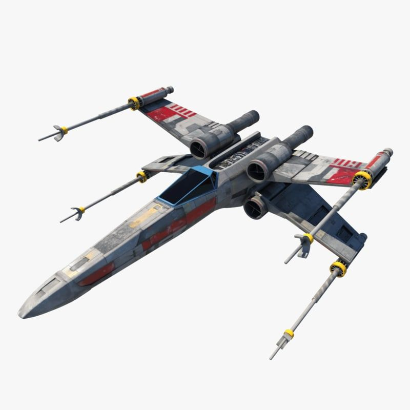 X Wing Fighter, Star Wars Ships, X