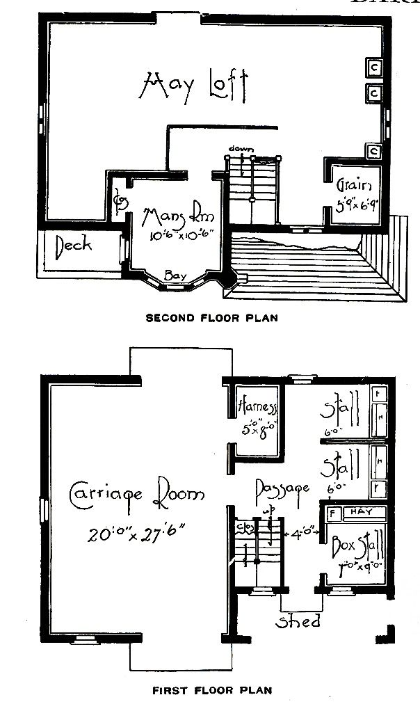 Vintage carriage house floor plans vintage new barn for Carriage house flooring