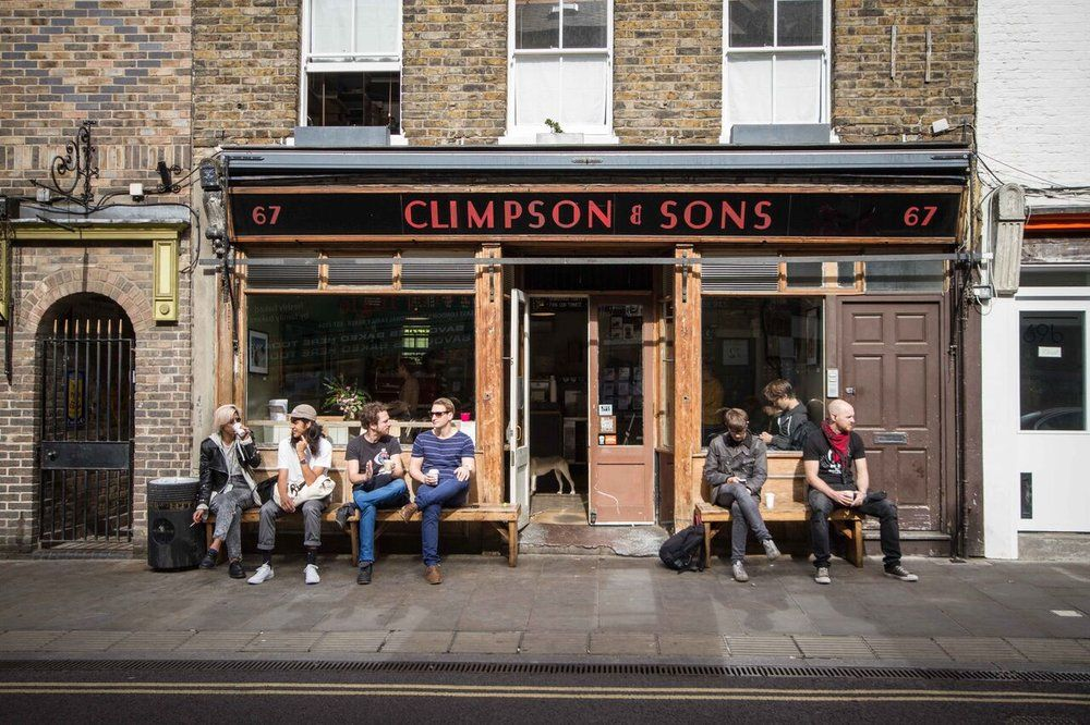 Climpson and Sons / Broadway Market London coffee shop