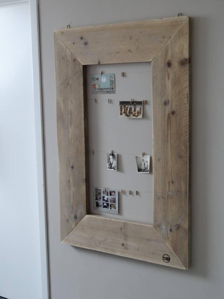39 rossfjord 39 fotolijst steigerhout crea pinterest herinneringen eenvoudig en meubels - Verlenging hout oud huis ...